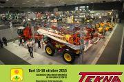 Tekna Srl sarà presente all' Esposizione biennale delle macchine e delle tecnologie per le filiere agricole