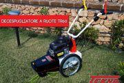 Un giardino pulito ed omogeneo senza fatica con il decespugliatore a ruote TR60